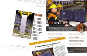 DTE is featured in January/February 2021 Issue of International ALUMINIUM Journal